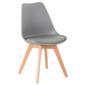 Стул FIRST light grey серый Eames